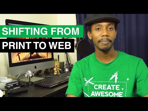 Shifting from Print Design to Web Design