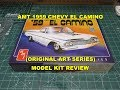 AMT 1959 CHEVY EL CAMINO 1:25 SCALE MODEL KIT REVIEW AMT1058