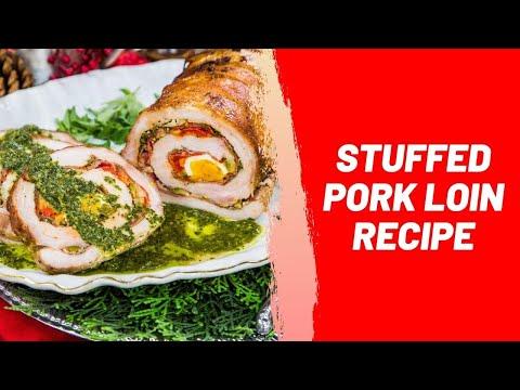 Stuffed Pork Loin / Chops Recipe