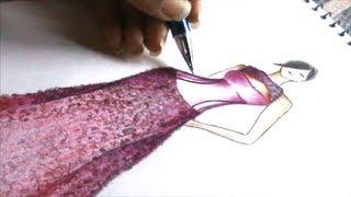 Speed Fashion illustration Thumbnail