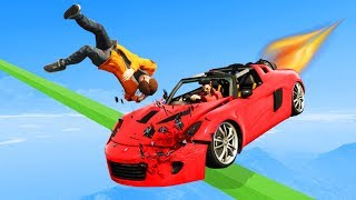 Dodge The Fastest Rocket Car! - GTA 5 Funny Moments