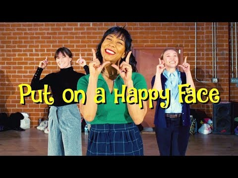 """PUT ON A HAPPY FACE""- Galen Hooks Choreography al Theater ""Bye Bye Birdie"""