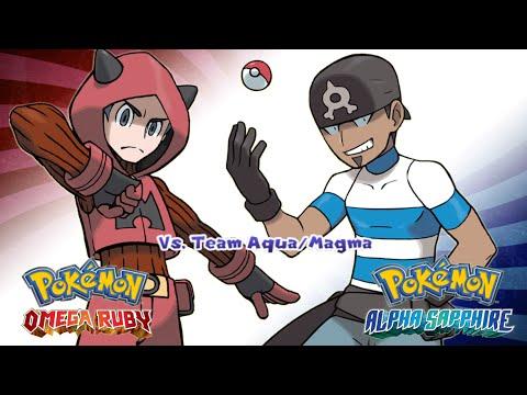 Pokemon Omega Ruby/Alpha Sapphire - Battle! Team Magma/Aqua Music (HD)