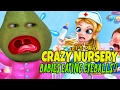 Pear is FORCED to Play - Crazy Nursery: BABIES EATING EYEBALLS?!