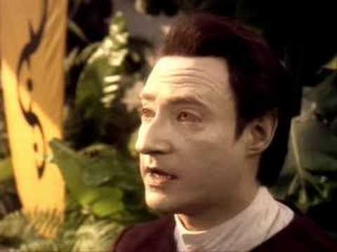 Data correcting pre-industrial teacher (Star Trek: TNG)