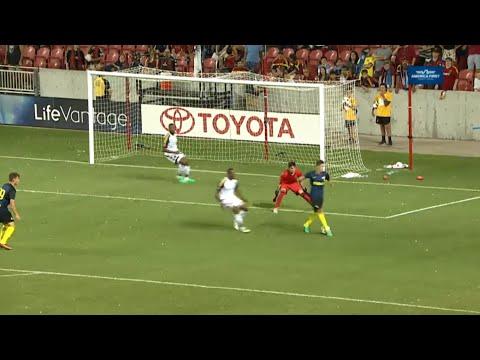 Stevan Jovetić amazing backheel goal vs Real Salt Lake - HD