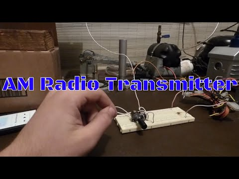 How to make an AM radio transmitter