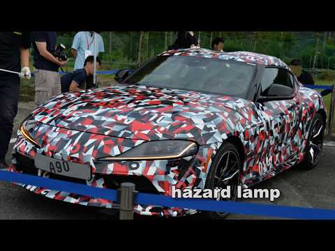 TOYOTA NEW SUPRA A90 (Detailed Version)