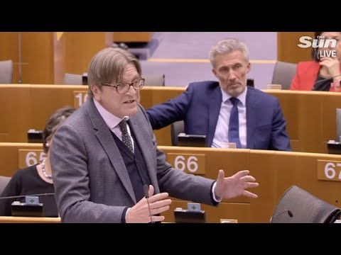 "Verhofstadt blasts UK: ""everyday changing your opinion"""