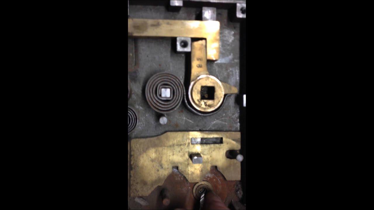 Lips Klavier Slot 1e Filmpje Making A Key On A Old Mortise Lock