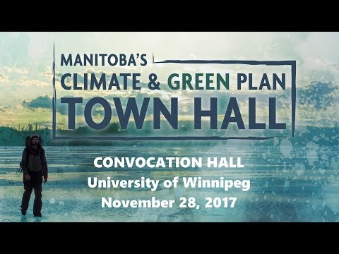 Manitoba Climate and Green Plan Town Hall Meeting
