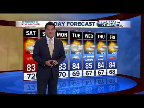 The latest weather forcast