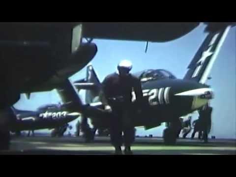 USS Boxer Operations during Korean War (1953)
