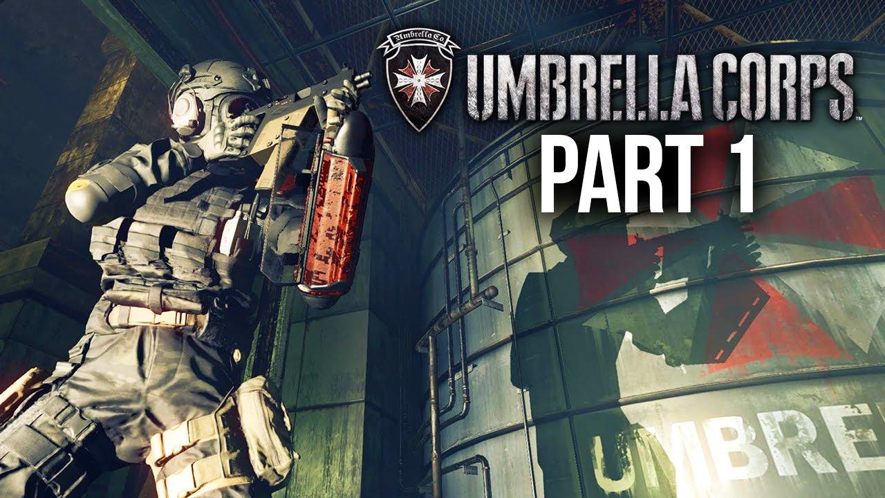 Umbrella Corps Gameplay Walkthrough Part 1 Is It Good Youtube