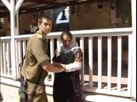 Savage IOF soldiers attacking women in Palestine