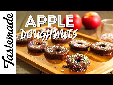 Apple Doughnuts l Dini Klein