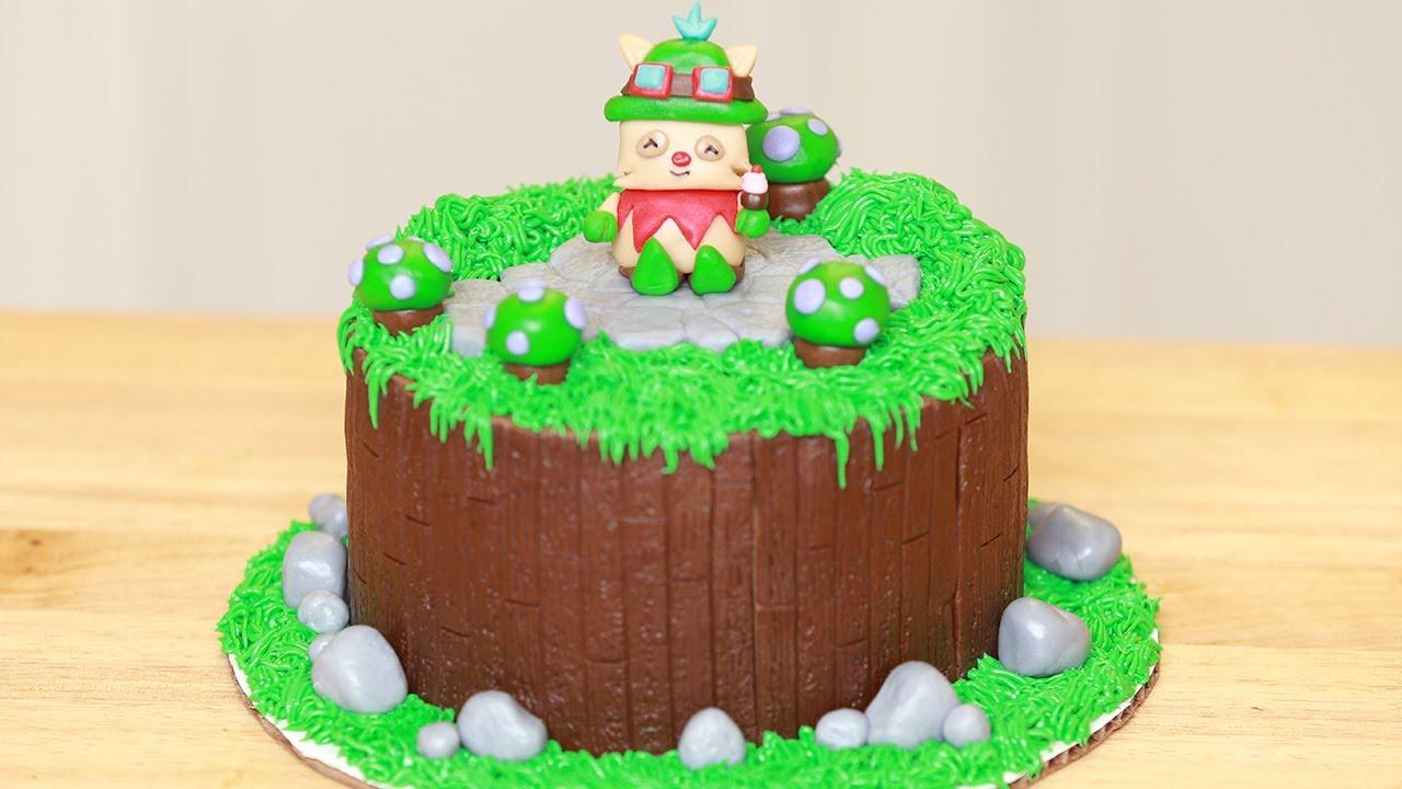 League Of Legends Cake Ideas