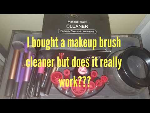 Does this makeup brush cleaner actually work???