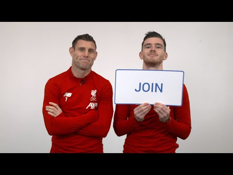 Milner And Robbo Explain Liverpool FC's YouTube Memberships