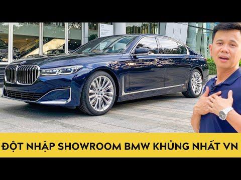 Đột nhập showroom BMW khủng nhất Việt Nam, khám phá BMW 7 series 2020 cực đỉnh giá hơn 6 tỷ