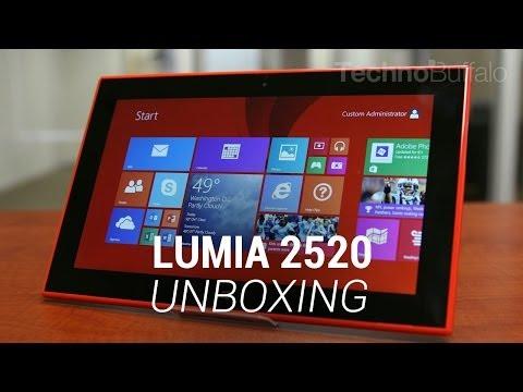 Lumia 2520 Unboxing