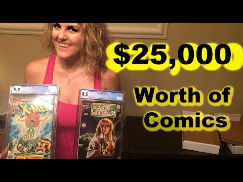Storage Wars $25,000 in Graded Silver Age Comics Back from CGC X-men 101