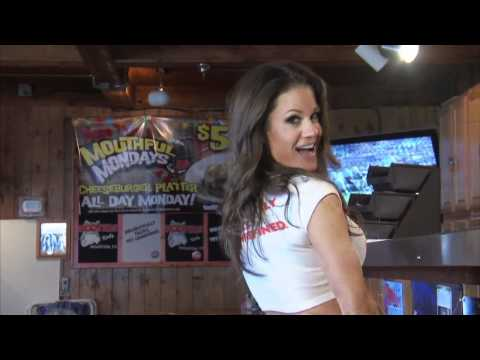 Hooters Behind the Orange  Brooke Adams aka Miss Tessmacher