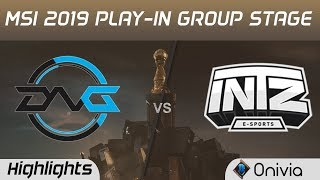 DFM vs INTZ Highlights MSI 2019 Play in Group Stage Detonation Focus Me vs INTZ E sports by Onivia