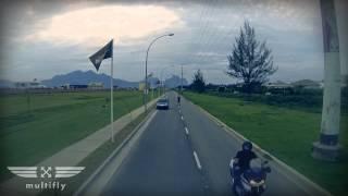 Tomadas Honda Varadero em movimento - Multifly