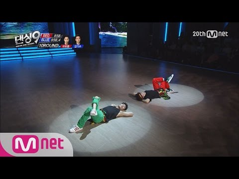 Dancing9S36thRound B-boy Senior and Junior Ha Huidong vs Kim Kisoo EP09