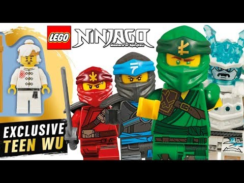 LEGO Ninjago Summer 2019 EXCLUSIVE Wu & Official Minifigures Images! (Season 11)