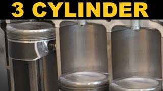 Inline 3 Cylinder Engine - Explained