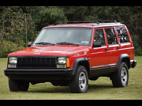 1994 jeep cherokee sport xj 4 0l i6 5 speed manual 4x4 red youtube rh youtube com 1994 jeep grand cherokee manual trans jeep grand cherokee 1994 manual pdf