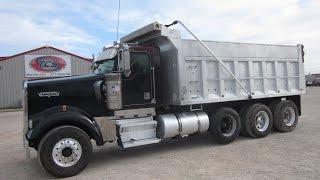 1997 Kenworth W-900L 18 Yd. Dump Truck