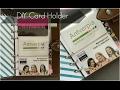 DIY Planner Card Holder | From Lamination Sheets