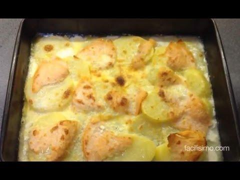 Cómo hacer patatas gratinadas con salmón ahumado | facilisimo.com