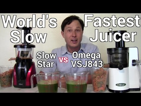 World's Fastest Cold Press Slow Juicer