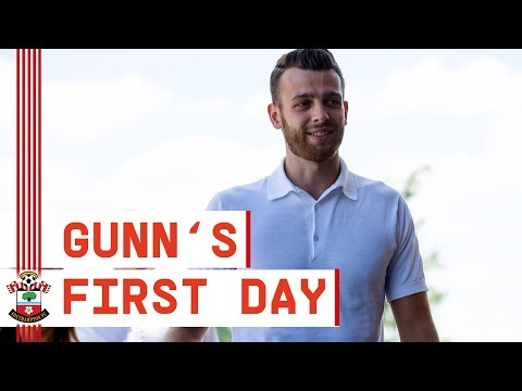 FIRST DAY | Follow Angus Gunn as he becomes a Saint!