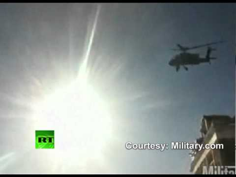 Video: Dramatic crash of AH-64 Apache helicopter in Afghanistan