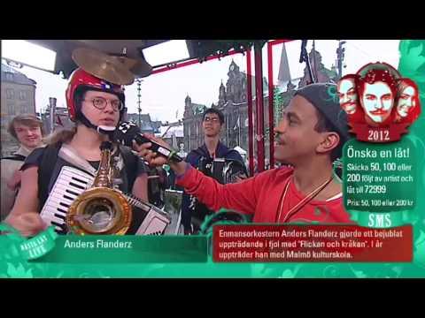 Anders Flanderz @ Musikhjälpen 2012 Full performance