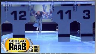 Spiel 4: Lattlschiessen - Schlag den Raab
