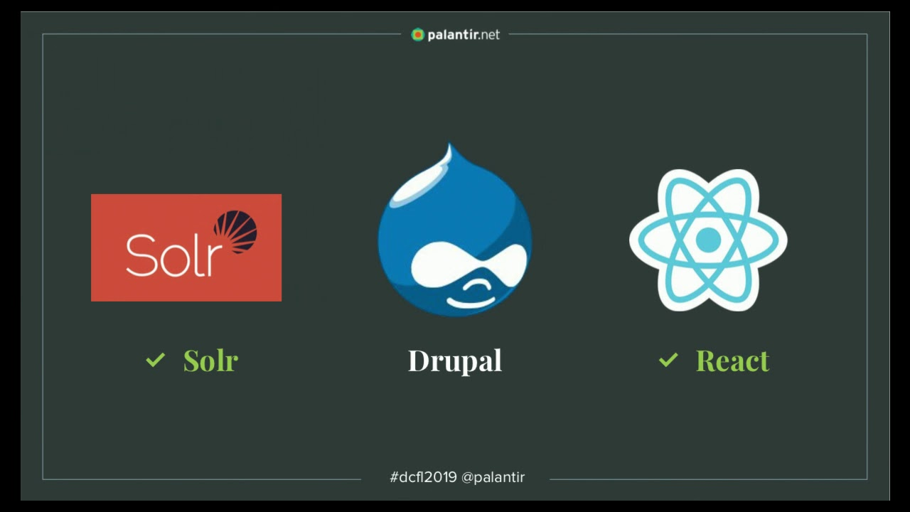 Federated Search With Drupal, Solr, And React | Florida