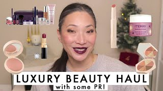 Luxury Beauty Haul with PR #MISHMAS DAY 5