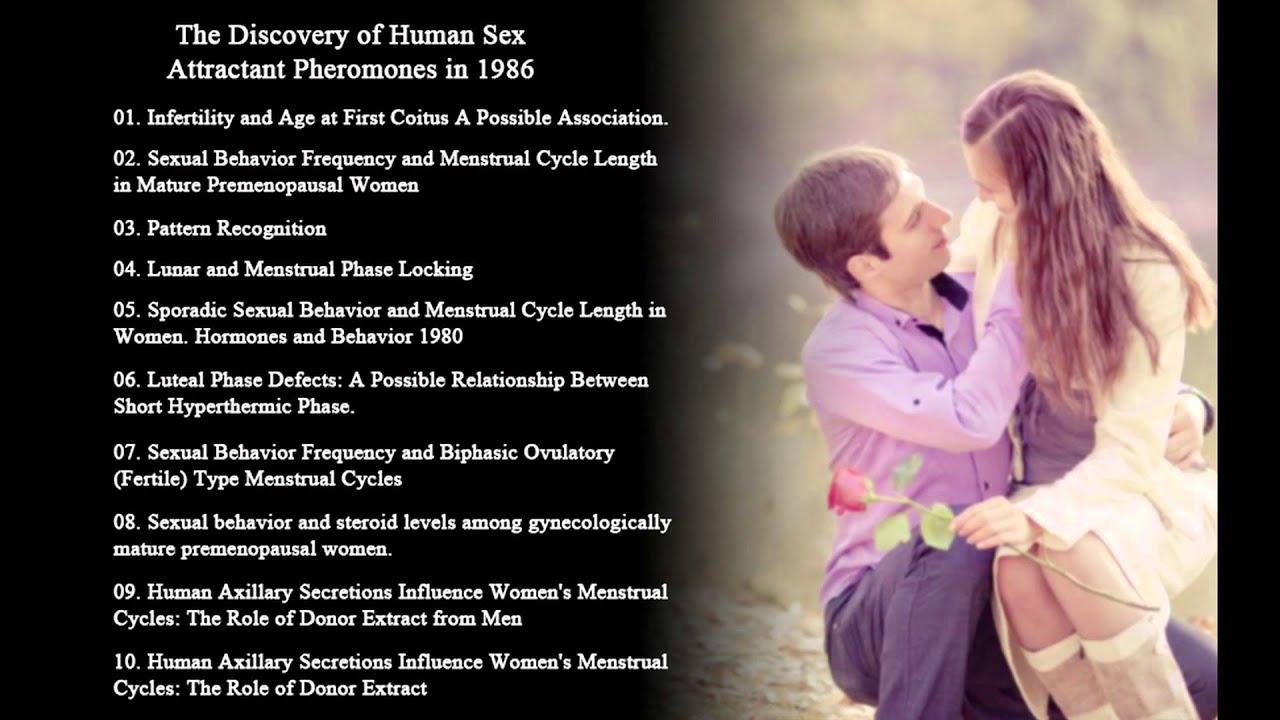 Human sex pheromone