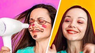 نصائح للعناية بجمالكِ || حيل تجميل سهلة للفتيات!