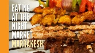 Marrakesh Night Market, Jemaa El-Fna - Moroccan Street Food