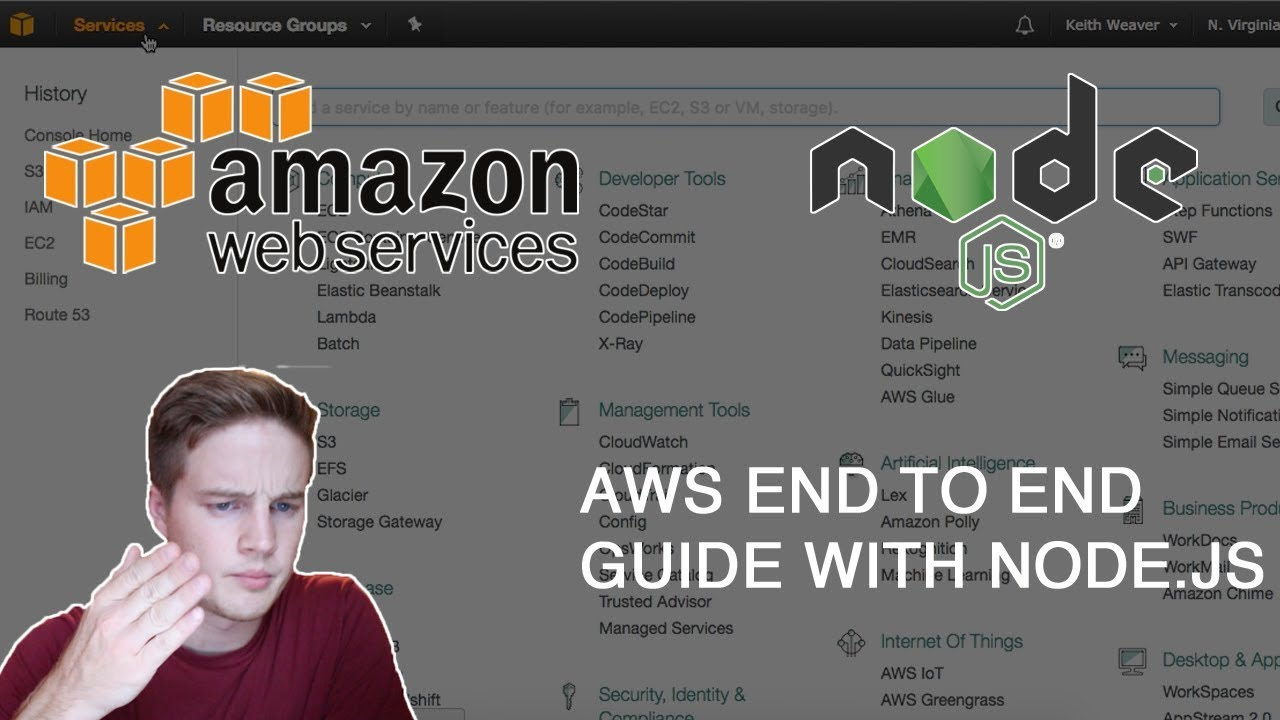 AWS S3 with Node js - Amazon Web Services End to End Guide