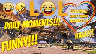 Fortnite Daily Best Funny Moments Montage Compilation