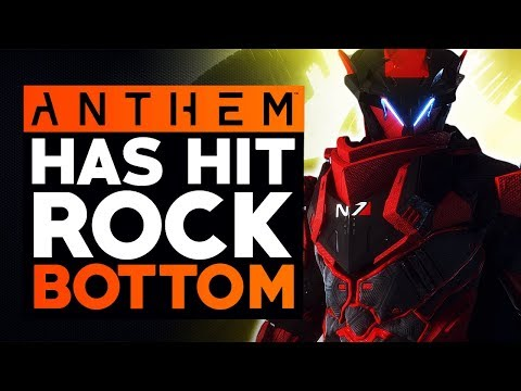 Anthem Has Officially Hit Rock Bottom & There Might Be Nothing To Save It (Anthem News Update)