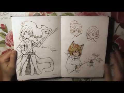 Sketchbook jule - november 2015